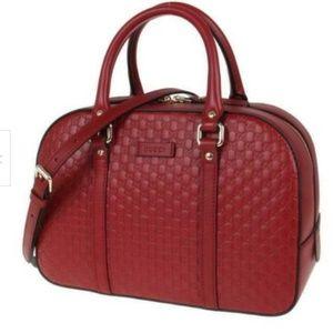 New Auth Gucci Satchel Crossbody Shoulder Bag